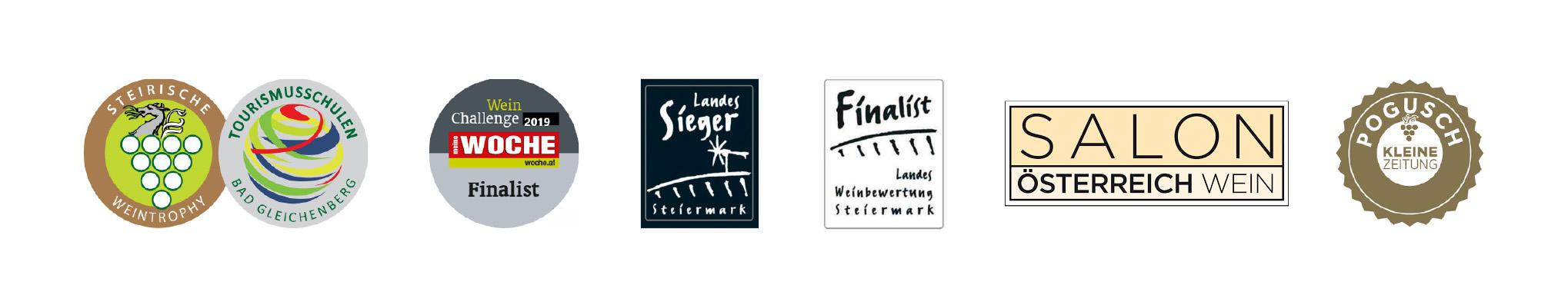 Riegelnegg Stammhaus Weine Auszeichnungen
