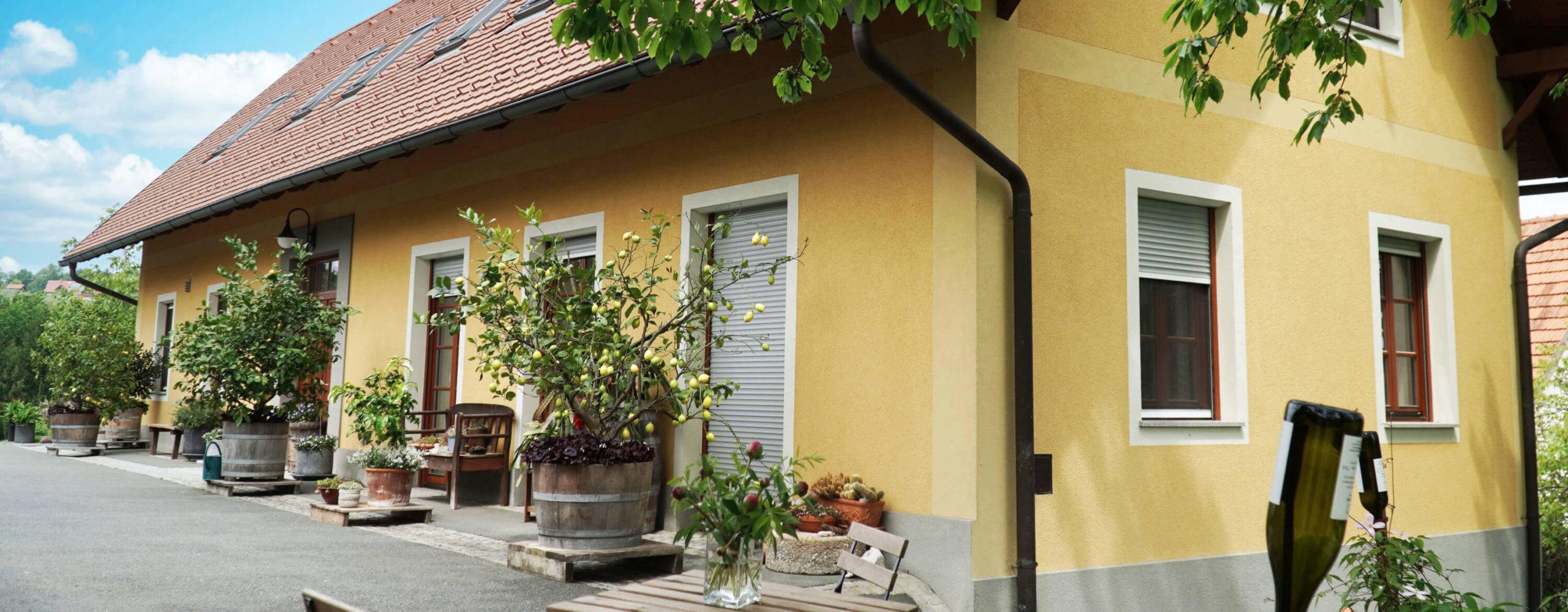 Weingut Riegelnegg Stammhaus Gamlitz Suedsteiermark Kontakt
